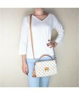 Louis Vuitton Damier Azur Canvas Croisette Crossbody Bag - $1,299.00