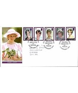 FIRST DAY COVER DIANA PRINCESS OF WALES 1961-1997 DATE STAMPED 3 FEBRUAR... - $39.81