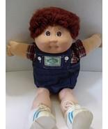 1985 Cabbage Patch Kid Boy Doll in Denim Overal... - $18.99