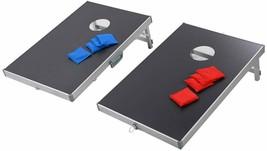 Foldable Bean Bag Toss Cornhole Game Set - $80.49