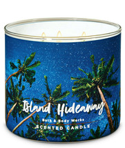 Bath & Body Works Island Hideaway Three Wick.14.5 Ounces Scented Candle - $22.49