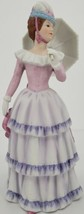 Home Interiors and Gifts Lady With Parasol Porcelain Figurine #1431-95 - $32.68