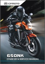 2014 CFMoto 650NK ( CF650 ) Service & Owner's Manual On a CD - $12.00