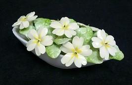 Vintage Royal Doulton ~ Bone China England White Flower Basket  - $42.75