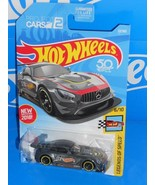 Hot Wheels New For 2018 Legends of Speed #72 '16 Mercedes-AMG GT3 Grey - $3.00