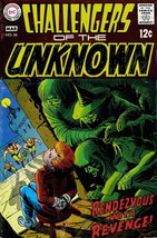 Challengers of the Unknown #66 FN; DC | save on shipping - details inside - $8.99