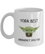 emergency doctor Mug Yoda Best emergency doctor Gift for Men Women Coffe... - £10.84 GBP