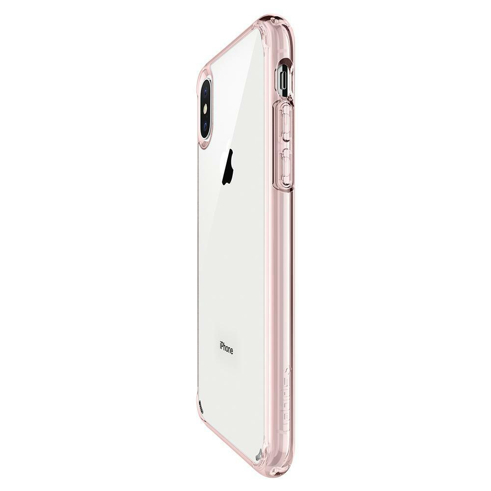 Spigen iPhone X Case Ultra Hybrid Rose Crystal