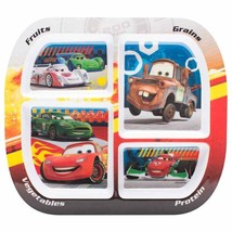 Cars-4 section melamine plate. BRAND NEW! - $6.95