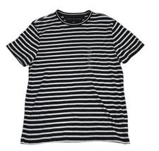 Tommy Hilfiger Men's Striped Shirt, Black/White S/P 3042-00 - $32.39