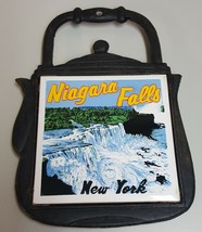 (BB) Niagara Falls New York Pot Kettle Trivet Souvenir Travel Decor Iron... - $4.94
