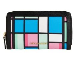 Vera Bradley Accordion Wallet Floral Grid Multi-Color, Genuine Leather T... - $24.99