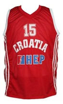 Dario Saric Croatia Basketball Jersey New Sewn Red Any Size image 1