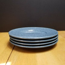 Mikasa Ultra Stone Country Blue Bread Plates Blue with White Specks LOT ... - $12.82