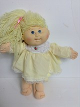 1983 Cabbage Patch Kids Doll Coleco Xavier Roberts Blonde Hair Blue Eyes - $24.75