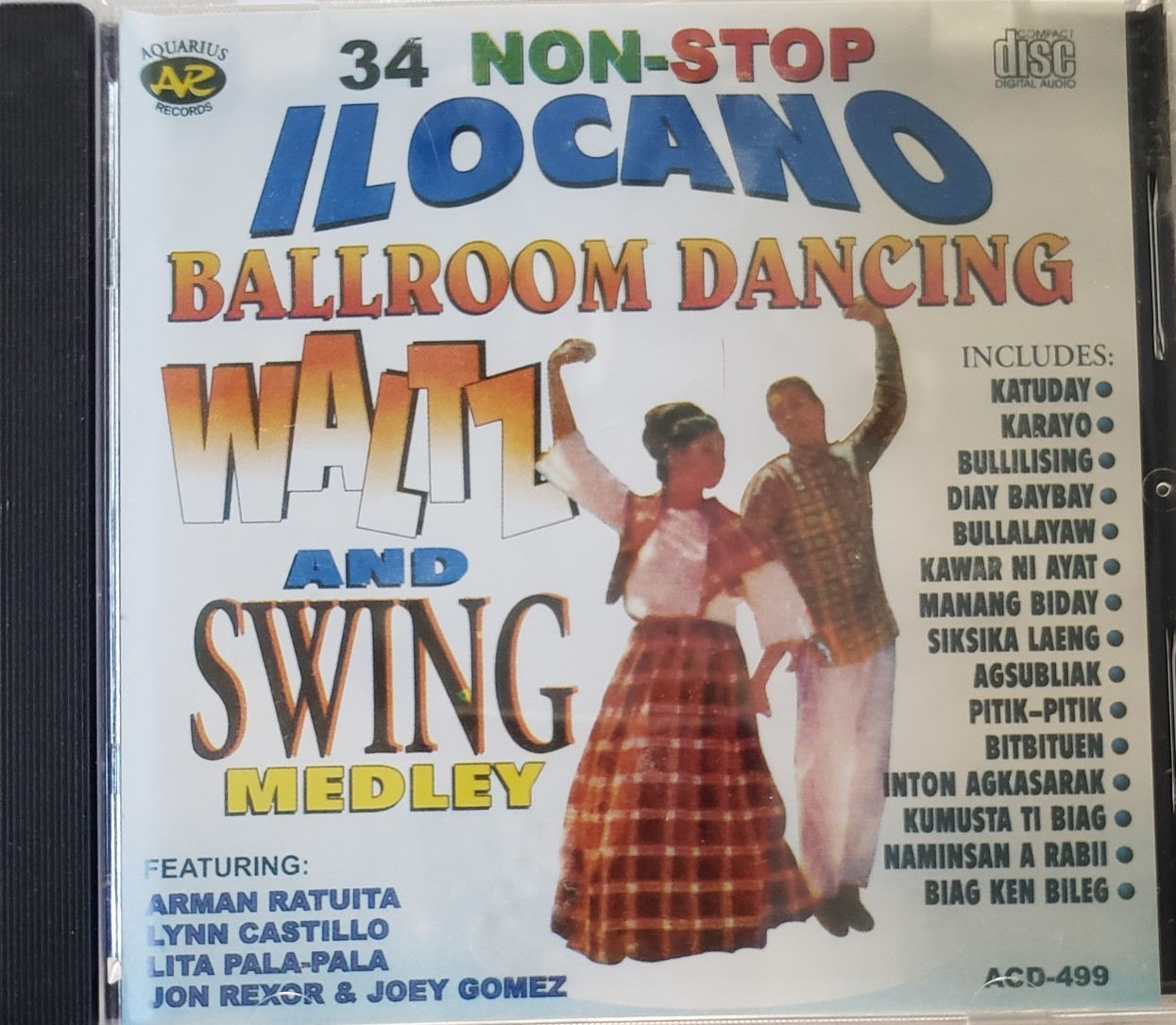 Primary image for 34 Non-Stop ILOCANO Ballroom Dancing Waltz & Swing Medley Philippine Tagalog CD