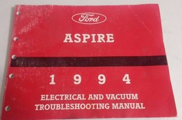 1994 Ford Aspire - Electrical and Vacuum Troubleshooting Manual - SHIPS FREE! - $8.32