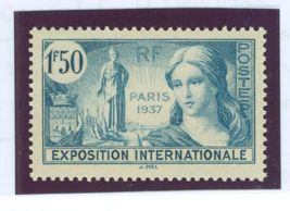 1937 Paris Exhibition France Postage Stamp Catalog Number 324 MNH