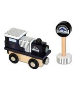 MLB Colorado Rockies Baseball Wooden Railway Train Engine All Star Express - $11.87