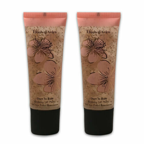 Primary image for Elizabeth Arden Dare to Bare Bronzing Gel Pearls - Bronze 01 - LOT OF 2