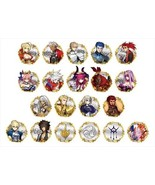 Fate/EXTELLA trading acrylic badge BOX product 1 BOX = 20 pieces, all 20... - $122.00