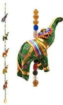 Indian Traditional Five Elephant Hanging Layer Door Hanging, Wall Hangin... - $12.21