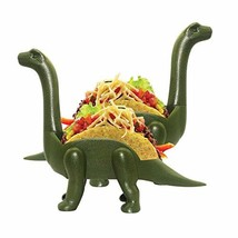 Dinosaur Taco Holder Set by GONOMI, Pack of 2 Ultrasaurus, Hold 4 tacos,... - $16.15