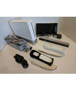 Nintendo Wii Video Game Console System Bundle Online RVL-001 GameCube Port White - $145.13