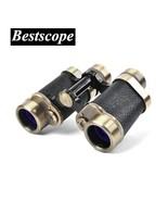 Tactical 8x30 Bronze Binoculars Night Vision Telescope Rangefinder Big E... - $124.66