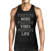 Positive Mind Vibes Life Unisex Tank Top Weight Lifting Shirt - $14.99+