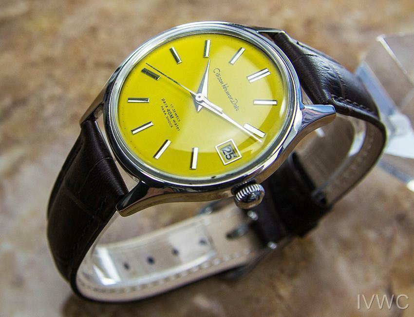Citizen Homer Data Giapponese da Collezione Uomo Vintage Abito Watch c1960s B18 image 3