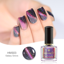 HOLOGRAPHIC 3D MAGNETIC SERIES Glitter Varnish Magnet Nail Art Lacquer image 9