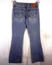 EUC Levis 518 superlow stretch jeans denim donna lavaggio leggero Stival... - $10.79