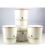 Royal Tara Irish Mist coffee cups with harp sha... - $20.00