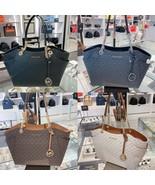 NWT Michael Kors Large Jet Set Travel Leather Chain Shoulder Tote Bag Multi  - $131.87 - $135.75