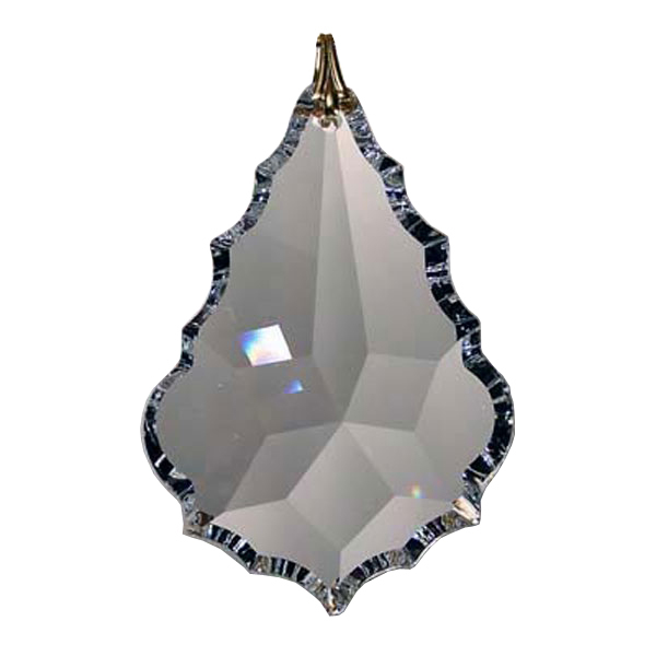 Austrian 38mm Clear Crystal Arrowhead Prism