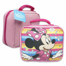 Minnie Mouse Disney Soft Lunch Box Bag Pink - $16.98