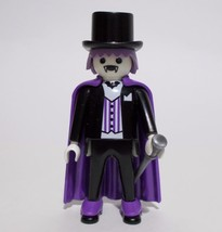 Playmobil Count Dracula Figure 4506 Vampire Top Hat Cane 1994 - $14.84