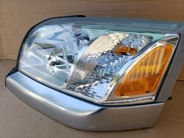 06-09 Mitsubishi Raider Headlight Head Light Lamp Driver Left LH - POLISHED image 4