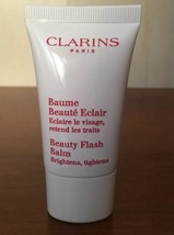 LOT 5 Clarins Beauty Flash Balm .5oz Travel Make Up Primer Anti-Aging Tightens - $15.83