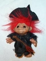 """Halloween Witch 1984 Dam Norfin Troll 5.5"""" - Wendy the Witch - RED Hair - $32.91"""