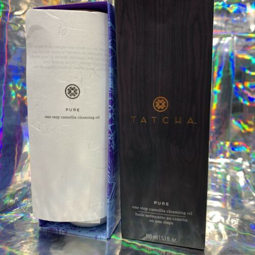 NEW IN Box Tatcha PURE ONE STEP Camellia Cleansing Oil 150mL (5.1oz)