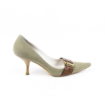 Vintage Christian Dior Pointed Buckle Pumps SZ 37.5 - €101,84 EUR
