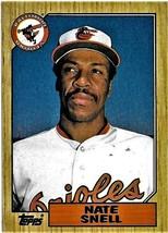 1987 Topps Baseball Card, #86, Nate Snell, Baltimore Orioles - $0.99