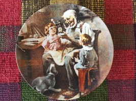 Norman Rockwell 1854 Knowles 'THE TOY MAKER' 1977 Collectible PLATE 1st ... - $104.00