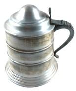 Seymour Mann Imports Pewtertone Pewter Ice Bucket Stein Italy - $39.99