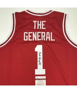 Autographed/Signed BOBBY BOB KNIGHT The General Indiana Hoosiers Jersey ... - $149.99