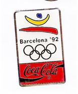 COCA COLA Barcelona Olympics 1992 Collector's Pin    - $6.26