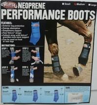 Weaver Leather 35 4216 BK Neoprene Performance Boots Medium Black Package 2 image 1