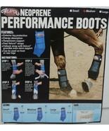 Weaver Leather 35 4216 BK Neoprene Performance Boots Medium Black Package 2 - $57.49